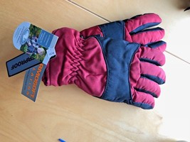 Winter Gloves Youth Black Red Thermosoft Size L 13/18 Waterproof Insulat... - $7.91