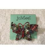 Jubilee Jeweled Butterfly Pin - $18.69