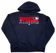 Small Minnesota Twins Women's Hoodie MLB Authentic Baseball Hooded Sweatshirt