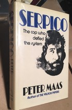 SERPICO by Peter Maas - 1973. First Edition In Dust Jacket. Nice! - $122.50