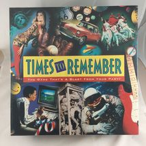 Times To Remember Trivia Board Game Family Fun 1960s 70s 80s - $39.99