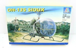 Italeri 1:72 Bell Westland OH-13 S Sioux Army Helicopter Plastic Model K... - $20.91