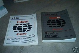 1990 Chevy Chevrolet GEO PRIZM Service Shop Repair Manual Set FACTORY BOOKS - $6.91
