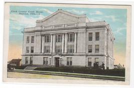 Court House Sapulpa Oklahoma 1920c postcard - $5.94
