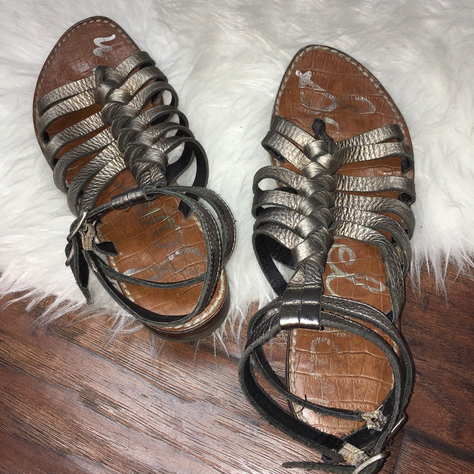 142ba1b2a5f Sam Edelman Womens Size 8 Greco Ankle Strap and 36 similar items