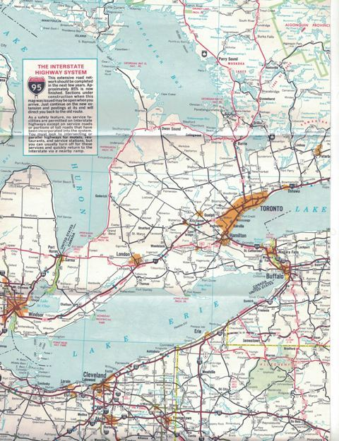 Vintage ESSO Eastern United States Road Map and 50 similar items