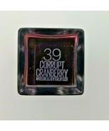 Maybelline Vivid Matte Liquid Lip Color #39 Corrupt Cranberry - $3.32