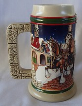Budweiser Grant's Farm Holiday Beer Stein 1998-1999  Limited Edition Mug... - $34.99