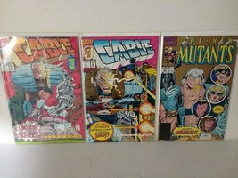 Cable #1 And 2 - Blood & Metal + New Mutants #87 - First Cable - Free Shipping - $20.57