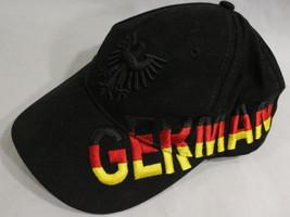 Vintage Rare! Black GERMANY BRITZZ Mesh Trucker baseball Cap Hat~Hard to find B4 - $22.95