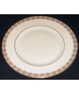 "Royal Doulton Gold Lace Dinner Plate 10 1/2"" H4989 Made in England - $51.29"