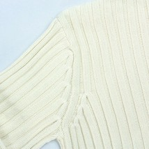 Lrl Größe M Kapuzenpulli Lauren Ralph Zopfmuster Creme Rippen Pullover - $22.78