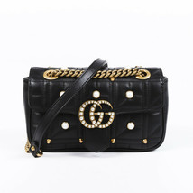 Gucci Mini Marmont Matelasse Pearl Shoulder Bag - $1,935.00