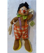 """Vintage 1980 Annalee Mobilitee 20"""" Poseable Circus Clown Doll - $39.98"""