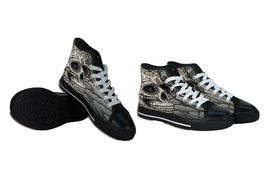Day of Dead Canvas Shoes - $53.67