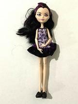 """Ever After High Raven Queen 11"""" Doll Purple Black Dress Bird Print Black... - $32.73"""