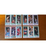 1981 1982 Lot Of 4 Uncut NBA Topps Cards Erving #262 G. Williams #233 Lu... - $7.43