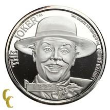 Batman Limitierte Auflage Die Joker 1 OZ Silbermünze 50th Jubiläum - $114.35