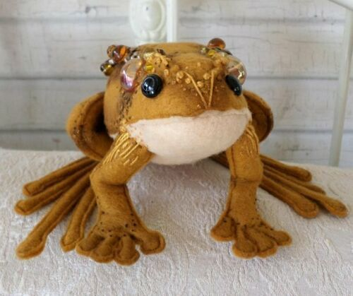 """The Frog ~ formerly known as ~ Prince"" PDF Digital E-Pattern By Paula McGee"