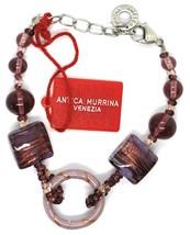 Bracelet Antica Murrina Venezia,BR567A05,Purple, Circle,Squares,Spheres image 2