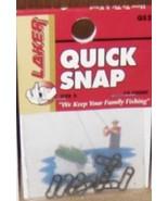 Laker Quick Snaps size 2 - QS2 - 10/pkg - sold in lots of 5 pkgs (BFP) - $8.00
