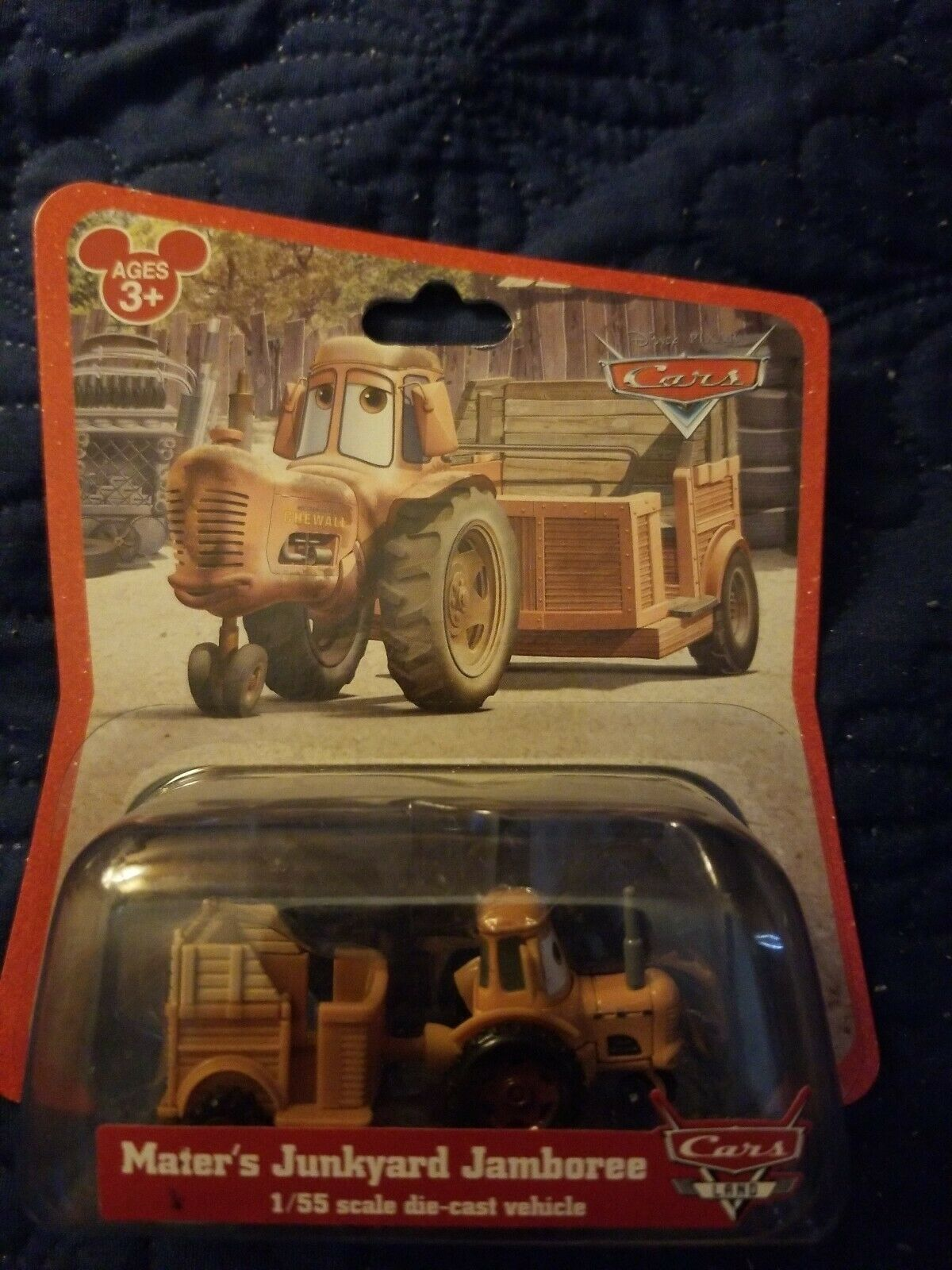 Disney Pixar Cars Land - Mater's Junkyard Jamboree - NEW - 2012 - 1:55 scale