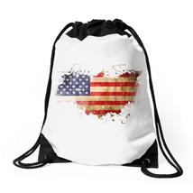 Old American Flag Drawstring Bags - $30.00