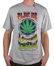 LRG Gray or White Plant For A Greener Tomorrow Weed Marijuana T-Shirt Medium NWT image 2