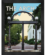 "Georgia Bulldogs ""The Arch"" 13 x 16 Art Deco Framed Print  - $39.95"