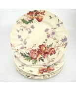 "Vintage Royal Doulton Sherborne Salad Plates Lot of 6 Scalloped 8-5/8"" F... - $59.39"