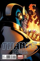 Thanos Rising #2A VF/NM; Marvel   save on shipping - details inside - $29.99