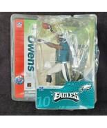 McFarlane Terrell Owens Philadelphia Eagles Receiver Figure HOF 2004 - $19.79