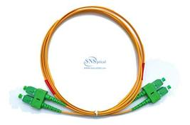 Optical SNS SC/APC to SC/APC Duplex Single Mode OS2 9/125 Patch Cord 70m... - $65.00