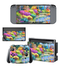 Painting of nature  decal for Nintendo switch console sticker skin - $15.00