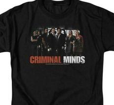 Criminal Minds t-shirt cast members crime TV drama series graphic tee CBS255 image 2