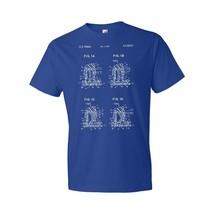 Mechanical Keyboard Buckling Spring T-Shirt Patent Art Gift Engineer Gift - $18.95+