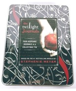 The Twilight Journals Saga 4 Journals In Collectible Tin Hardcover - $18.31