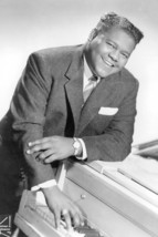Fats Domino Rare By Paino 18x24 Poster - $23.99