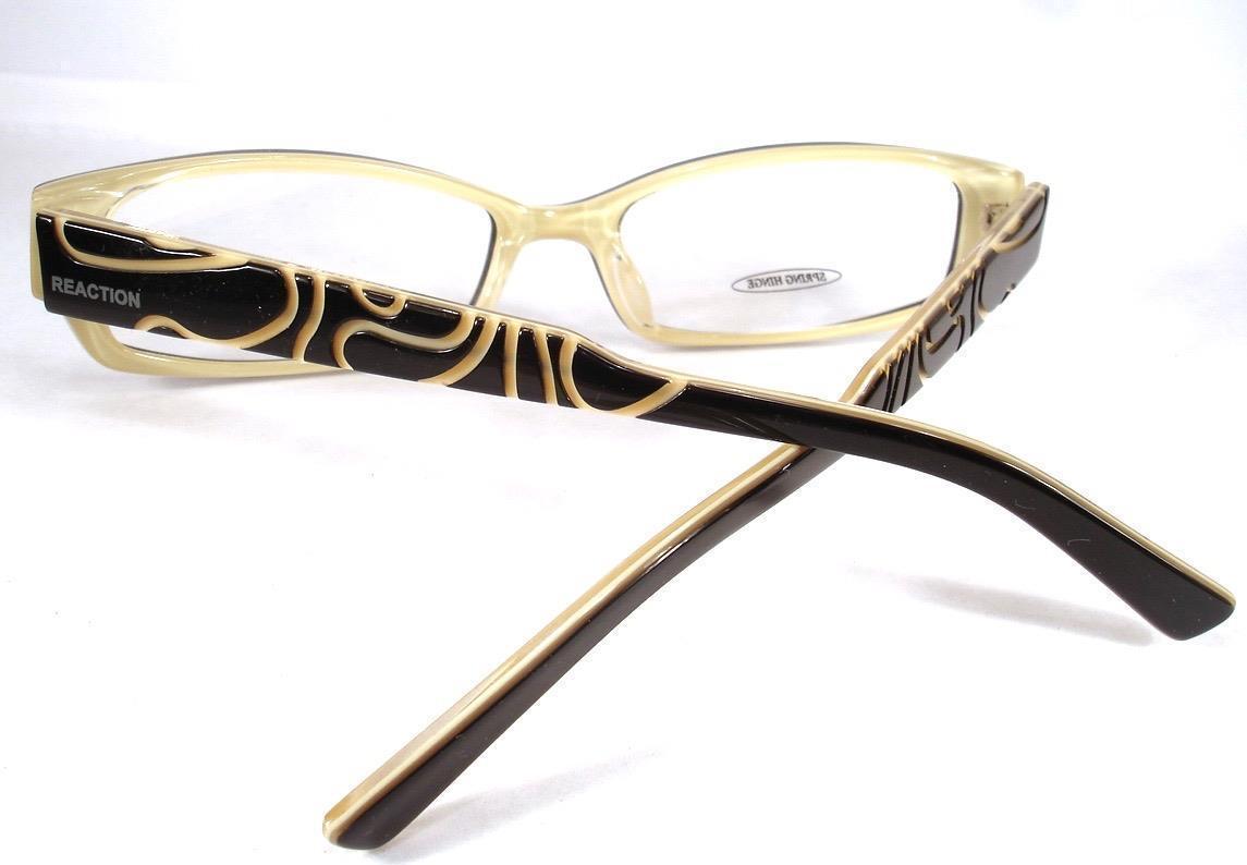 fe40fd08d4 Kenneth Cole Reaction Eyeglass KC 702 Black 005 Women Frames New 52-16-135