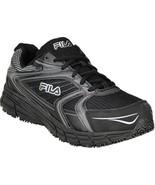Fila Men's Reckoning Steel Toe Athletic Work Shoe in Black in Sz. 7 to 13 - $74.99