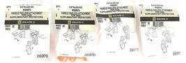LOT OF 4 NEW SQUARE D MG26970 HANDLE PADLOCK ATTACHMENT FOR C60N, 89222