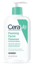 CeraVe Foaming Facial Cleanser For Normal To Oily Skin 8 oz - $18.95