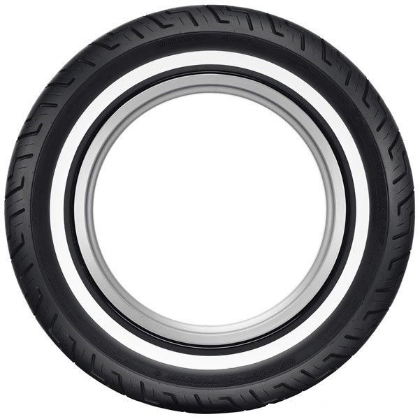 New Dunlop D401 Harley Davidson Rear Medium Narrow White Wall Tire 150/80B16