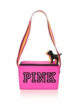 Victoria's Secret PINK Cooler & Mini Dog Keychain Set (NEW WITH TAGS) - $39.55