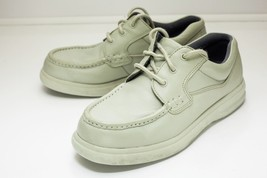 Hush Puppies 9 W Off White Lace Up Shoes Men's - $38.00