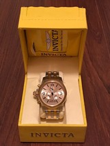 Men's Invicta Specialty Model 10057 Chronograph Gold Watch 33 - $115.00