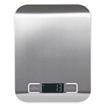 Compact Digital Kitchen Scale Diet Food Postal Mailing 5KG/11LBS x 1g El... - $13.64