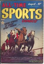 All-Time Sports #6 1949-Hillman-horse racing-Cinn. Reds-Soap Box Derby-V... - $60.53