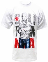 Marilyn Monroe Cali Graphic T-shirt for Men BT3-WH - $14.95