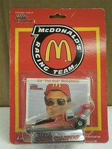 RACING CHAMPIONS- ED MCCULLOCH- MCDONALDS RACING- 1/64TH SCALE DIECAST- ... - $4.85